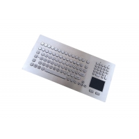 Buy cheap IP65 Vandal Resistant USB Keyboard With Waterproof Touchpad Industrial from wholesalers