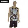 Buy cheap Custom Logo Printing Reversible Dri Fit Mesh Basketball Jersey product