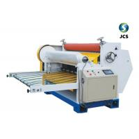 China Electric Driven Roll To Sheet Cutter For Single Corrugated Cardboard Cutting on sale