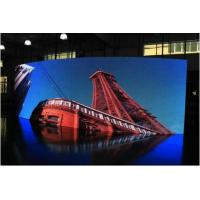 Buy cheap P4 Indoor & Outdoor Full Color Led Display / Curved HD Led Display Wide Angle Viewing product