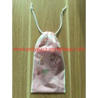 Buy cheap CPE fashion rope bag, ladies personal items lipstick watch scarf packaging bag product