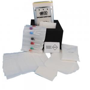 Buy cheap A5 Flexo Printing 95kPa Specimen Transport Bag  Liquid Enclosure product