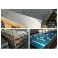 Buy cheap Railway Materials Aluminium Alloy 5083 , A5083 LF4 Grade 5083 Aluminium Plate product