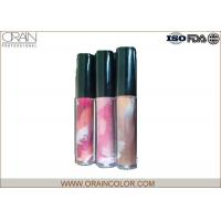 Buy cheap Pretty Girl Moisturizing Cosmetics Lip Gloss in Painting Bottle for Lip makeup product