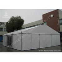 Quality Aluminum Alloy Framed Heavy Duty Event Tents With Glass Door and Fabric Cover for sale