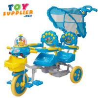Buy cheap Brand New Double Seats Kid's Pedal Tricycle product