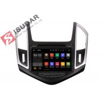 Buy cheap Quad Core Double Din Bluetooth Car Stereo , Chevrolet Cruze GPS NavigationSplit Screem product
