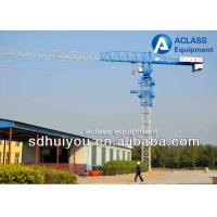Buy Construction Lift Equipment Flat Top Tower Crane 6 Ton 55 Meters Jib at wholesale prices