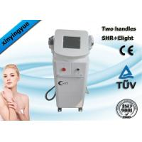 Buy cheap Professional 2 handpiece pain free hair removal  / freckle removal SHR ipl machine product