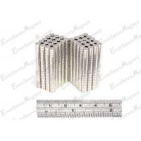 Buy cheap Small Strong NdFeB Permanent Magnets Dia 3 * 1.5 mm for Magnetic Switch product