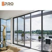 Buy cheap Waterproof Commercial Sliding Glass Door , Double Glass Aluminium Profile Exterior Sliding Doors product