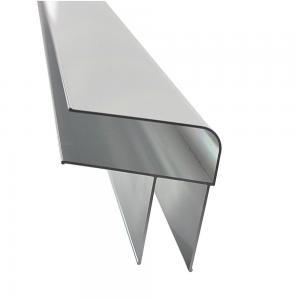 Buy cheap 6063 T5 Anodized Silver D Shape 5.8m Aluminum Alloy Ladder Profiles product