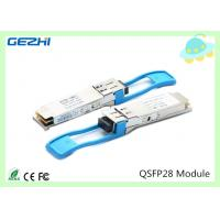 Buy cheap 100G QSFP28 Transceivers SR4 MMF 850nm Reach 100M , MTP / MPO connector product