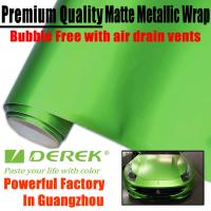 Buy cheap Matte Metallic Car Wrapping Films - Matte Metallic Apple Green product