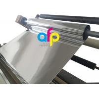 Buy cheap 1 Inch Core Glossy Metalized Thermal Lamination Film BOPP / PET Material product