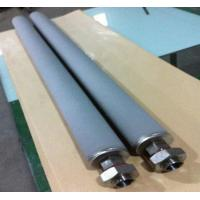 China High temperature high pressure stainless steel sintered filter on sale