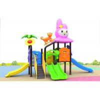 Buy cheap Carton House Theme Small Baby 280CM Kids Outdoor Plastic Slide product