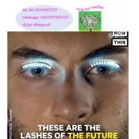 Buy cheap Party Supplies Led Eye Lashes Fun Interactive LED Eyelashes lashes turn your face into a rave party Led flashing colour product
