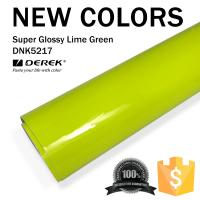 Buy cheap Super Glossy Car Wrapping Film - Super Glossy Lime Green product