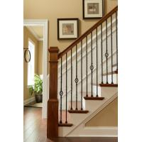 Buy cheap Wrought iron stair Decorative handrail for home and garden indoor or outdoor usage product