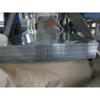 Buy cheap Big Spangle For Outer Walls Hot Dipped Galvanized Steel Sheet / Sheets product