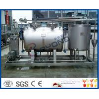 Buy cheap 10tph Split Type Semi Auto CIP Cleaning System With SUS304 SS316 Material product