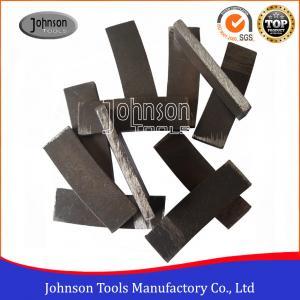 Buy cheap Segmented Bond Tool 500mm Saw Blade Diamond Cutting Sandstone Segment For Stone product