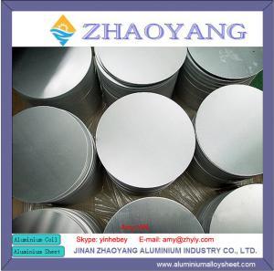 Buy cheap 1100 Aluminum Wafer / Aluminum Disk 50mm 100mm product