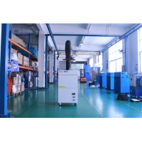 Buy cheap Laser Engraving Machine 0.75kW Workshop Fume Extractor product