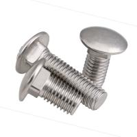 Buy cheap Custom Shape 10.9 Grade Bolt , Din 603 Carriage Bolt Corrosion Resistance product