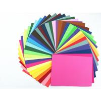Buy cheap Colored Paper Packaging Materials 100% Wood Pulp Smooth Surface Folding Resistance from wholesalers