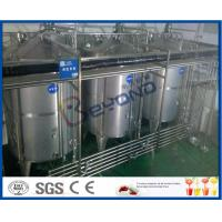 Buy cheap 8000 - 10000BPH Functional Beverage Soft Drink Production Line With Bag Type Duplex Filter product