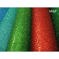 Quality 2mm 50cm*50cm Red brown glitter EVA foam spray powders can improve the child beginning ability decorative background for sale