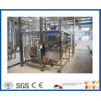 Buy cheap ISO 10000LPD stirred Industrial Yogurt Making Machine with plastic containers or cups package product