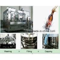 Buy cheap 3 in 1 Aseptic Fully Automatic Beverage Bottle Line (CGFD) product