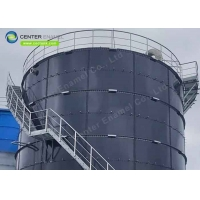 Buy cheap Bolted Steel Leachate Storage Tanks For Landfill Leachate Treatment Project product