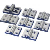 Buy cheap T3-T8 Aluminum Hardware Products Commercial Glass Door Hinges Heavy Duty product
