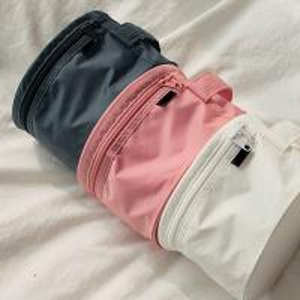 Buy cheap Durable Pink Travel Undergarments Pouch / Underwear Travel Case Round Design product