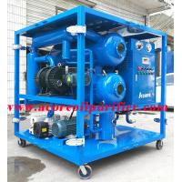 Buy cheap Mobile High Vacuum Transformer Oil Filtration Plant For Sales product