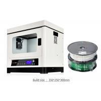 Buy cheap High Precision Commercial 3D Printer , White Fused Deposition Modeling 3D Printing Machine product