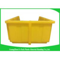 Buy cheap Open Fronted Warehouse Storage Bins Stackable Recycled Long Service Life product