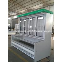 Buy cheap Supermarket Combination Display Freezer Showcas High - Density product