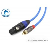Buy cheap Multimedia Rca Audio Video Cable With Amphenol Connectors ACPL-CYL from wholesalers