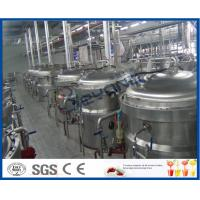 Buy cheap 12TPH Soft Drink Production Process Soft Drink Production Line With Soft Drink Filling Machine product