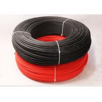 Buy cheap Hard Wearing Electrical Cable Wire / 4mm Pv1f Photovoltaic Cable For Power System product