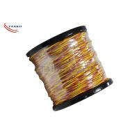 Buy cheap Type K/J/T/S/B/R Thermocouple Cable Wire PVC / Fiberglass Insulated Cable product