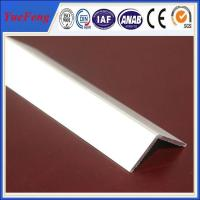 Buy cheap extruded profile aluminium angle for industry using drawings design product