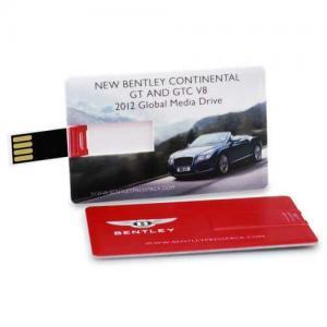 China Credit Business Card USB Drive Flash Drive Memory Stick 4GB-32GB Colorful Print on sale