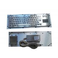 Buy cheap Rugged slim metallic panel mount military keyboard for portable military pc outdoor product