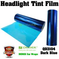 Buy cheap Car Headlight Tint Film 3 layers 0.3*10m/roll - Deep Blue product